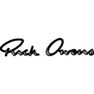 logo Rick Owens
