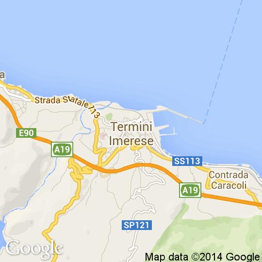 Cartina Sicilia Termini Imerese.Mappa Di Termini Imerese Cartine Stradali E Foto Satellitari